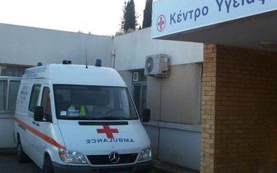 Ακινητοποιημένο λόγω… φρένων το ασθενοφόρο στην Αργαλαστή