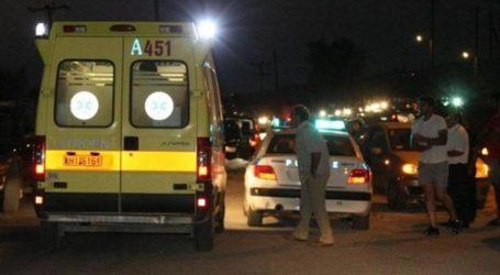 Τροχαίο ατύχημα στο κέντρο του Βόλου – Τραυματίστηκαν δύο μοτοσυκλετιστές