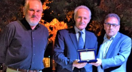 Τιμήθηκε ο Γιώργος Τσιτρούλης σε εκδήλωση της αντιδημαρχίας Αθλητισμού του Δήμου Κιλελέρ