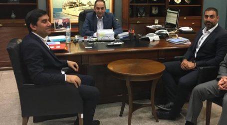 Συνάντηση του δημάρχου Σκιάθου με τον Υπουργό Ναυτιλίας