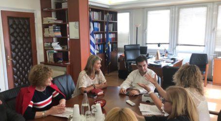 Συναντήσεις Ζ. Μακρή στο Υπουργείο Εργασίας για τη λειτουργία του ΕΦΚΑ στον Βόλο