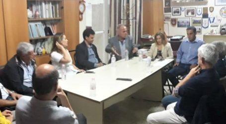 Συνάντηση της Γραμματέα του υπουργείου Παιδείας με την Ε.Λ.Μ.Ε. Λάρισας και τον Σύλλογο Δασκάλων
