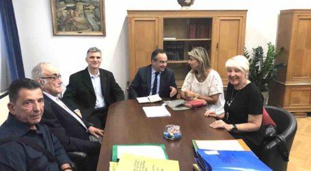 Συνάντηση Ζ. Μακρή – Υφυπουργού Υγείας: Επί τάπητος τα προβλήματα των νεφροπαθών της Μαγνησίας
