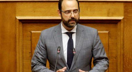"""Κωνσταντίνος Μαραβέγιας: """"Δίκαιο το αίτημα του Δήμου Σκιάθου για παράταση του προγράμματος κοινωφελούς εργασίας"""""""