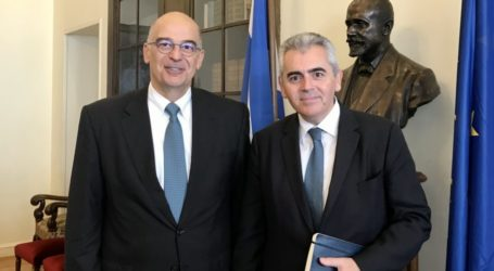 Χαρακόπουλος με Δένδια για ΔΣΟ: «Forum που προάγει την ειρηνική συνύπαρξη»