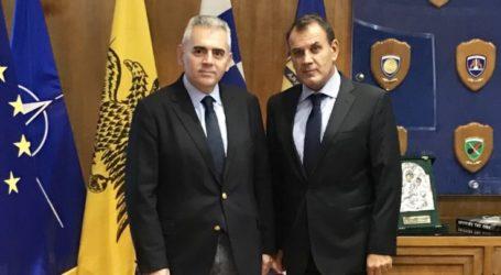Συνάντηση Μ. Χαρακόπουλου με Ν. Παναγιωτόπουλο: «Ευήκοον ους στην παραχώρηση στρατοπέδων στον δήμο»