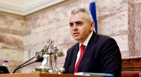 Χαρακόπουλος: «Μετά την αύξηση στο επίδομα θέρμανσης και επιπλέον καυσόξυλα»