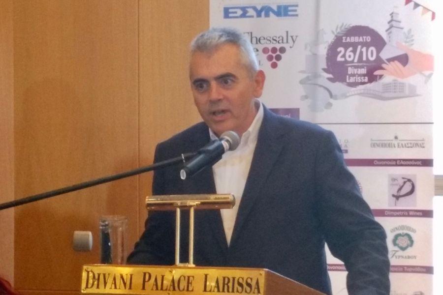Χαρακόπουλος στο 2ο Φεστιβάλ Θεσσαλικού Οίνου: «Στο DNA του Έλληνα το καλό κρασί»