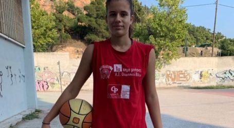 Η Βασιλική Σιουμουρέκη του Ολυμπιακού σε καμπ της ΕΟΚ και της FIBA