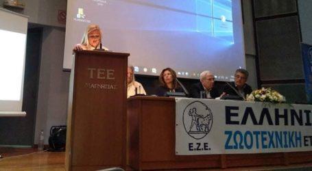 Χαιρετισμός της Δ. Κολυνδρίνη στο 39ο Συνέδριο της Ελληνικής Ζωοτεχνικής Εταιρείας στον Βόλο