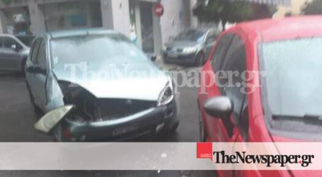 ΤΩΡΑ: Τροχαίο ατύχημα στο κέντρο του Βόλου [εικόνες]