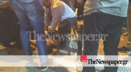 Βόλος: Ο βουλευτής Μαραβέγιας σώζει γυναίκα που υπέστη ανακοπή στη μέση του δρόμου [εικόνες]