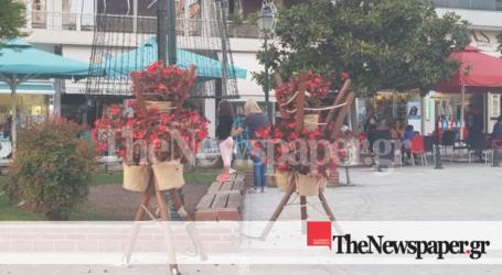 Βόλος: «Λίφτινγκ» στην Πλατεία Αγίου Νικολάου [εικόνες]
