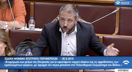 Μεϊκόπουλος: Ζήτησε αναστολή της ΑΕΠΟ του 2014 και αναστολή καύσης RDF