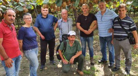 Κύπριοι αγρότες επισκέφθηκαν το δήμο Τεμπών