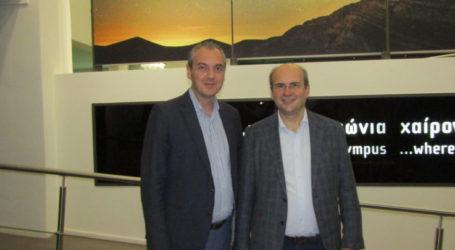 Συνάντηση με τον Υπουργό Περιβάλλοντος είχε ο Δήμαρχος Ελασσόνας
