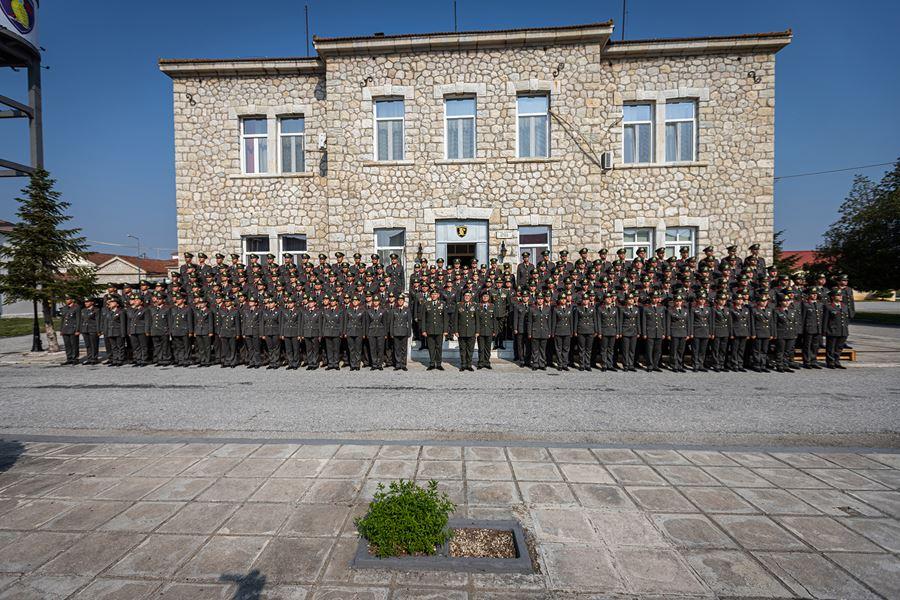 Στην τελετή ορκωμοσίας των πρωτοετών της ΣΜΥ ο Διοικητής της 1ης Στρατιάς