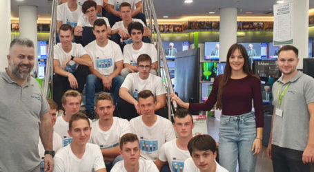 Επίσκεψη Πολωνών μαθητών – Η Electronet Β.Κ. Καζάνα γίνεται κέντρο βιωματικής μάθησης!
