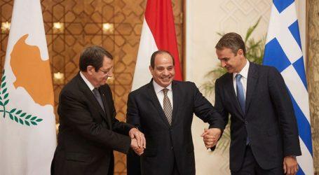 Η τριμερής στο Κάιρο καταδίκασε την τουρκική προκλητικότητα