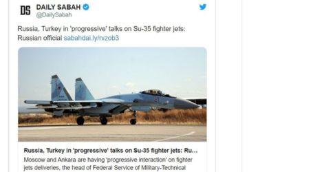 Η Τουρκία παζαρεύει 36 ρωσικά Su-35
