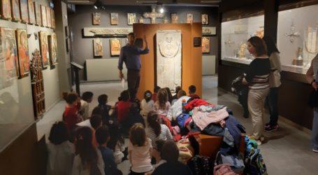 «Μία εικόνα, χίλιες λέξεις»: 1οΕκπαιδευτικό Πρόγραμμα στο Βυζαντινό Μουσείο Μακρινίτσας