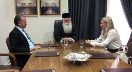 Συνάντηση του Μητροπολίτη Ιγνάτιου με την νέα Διοίκηση του Ο.Λ.Β.