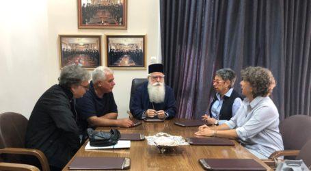 Συνάντηση του Μητροπολίτη Δημητριάδος με τους υπευθύνους του ΚΕΘΕΑ Βόλου