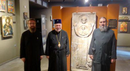 Στο Βυζαντινό Μουσείο Μακρινίτσας ο Σεβ.Μητροπολίτης Ταλλίνης κ.Στέφανος