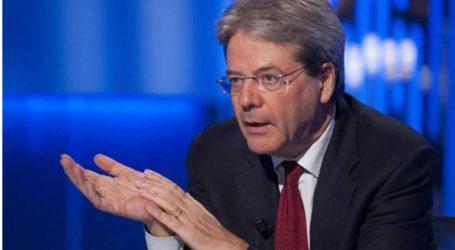 Καταδικάζει την υποψηφιότητα του Τζεντιλόνι για τη θέση του Επιτρόπου Οικονομικών στην Ιταλία