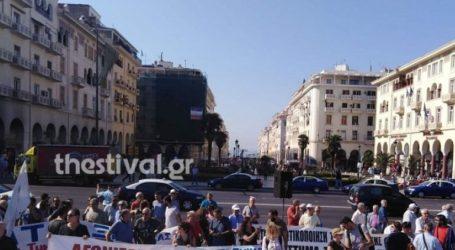 Θεσσαλονίκη: Σε εξέλιξη η διαμαρτυρία του ΠΑΜΕ στο άγαλμα Βενιζέλου