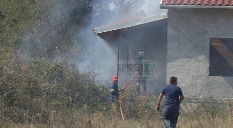 Η Πυροσβεστική πρόλαβε τη φωτιά στην Πεδινή