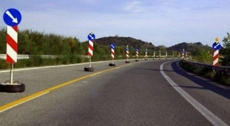 Διακοπή κυκλοφορίας των οχημάτων στην ΠΑΘΕ, στο ύψος της Πιερίας, λόγω εργασιών