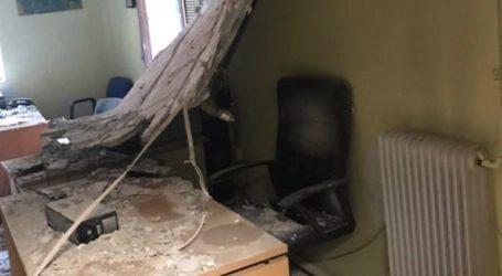 Κατέρρευσε οροφή στο Ιπποκράτειο Νοσοκομείο