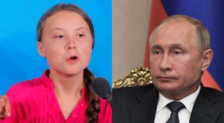 Η Γκρέτα Τούνμπεργκ στοχεύει τον Πούτιν στο Twitter