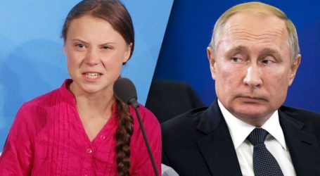 Η Γκρέτα Τούνμπεργκ ειρωνεύτηκε τον Πούτιν