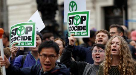 135 προσαγωγές ακτιβιστών που συμμετείχαν σε διαδηλώσεις κατά της κλιματικής αλλαγής