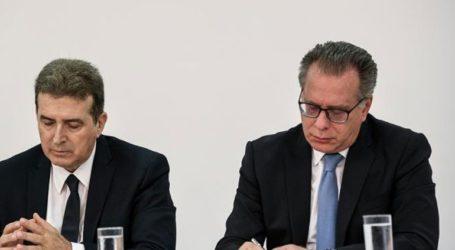 Στο Συμβούλιο Δικαιοσύνης και Εσωτερικών Υποθέσεων ο υπουργός και ο αναπληρωτής υπουργός Προστασίας του Πολίτη