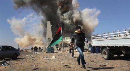 Έξι τραυματίες από αεροπορικό βομβαρδισμό σε προάστιο της Τρίπολης