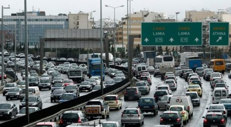 Μποτιλιάρισμα 14 χιλιομέτρων στον Κηφισό λόγω τροχαίου ατυχήματος