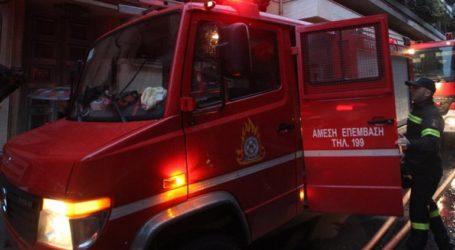 Απανθρακώθηκε γυναίκα έπειτα από φωτιά σε τροχόσπιτο