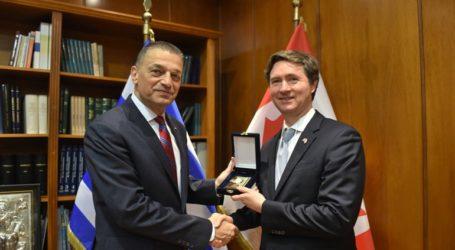 Συνάντηση του ΥΦΕΘΑ Αλκιβιάδη Στεφανή με τον Γενικό Διευθυντή του Υπουργείου Εξωτερικών του Καναδά