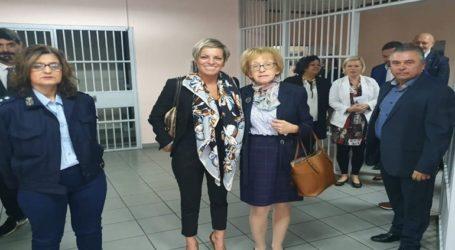 Επίσκεψη της Γ.Γ. Αντεγκληματικής Πολιτικής, Σοφίας Νικολάου στις γυναικείες φυλακές Θήβας