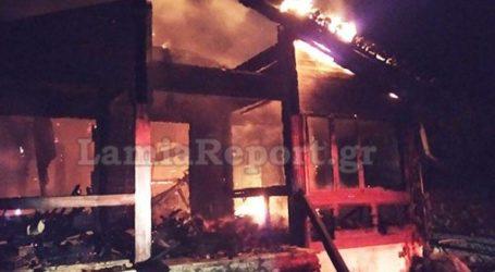 Κάηκε ολοσχερώς εστιατόριο ορεινού σαλέ στη Φθιώτιδα