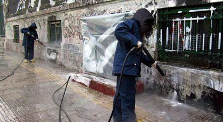 Συνεχίζονται οι παρεμβάσεις του δήμου στις γειτονιές της Αθήνας