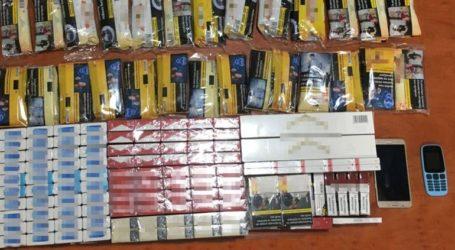 Δύο συλλήψεις για λαθραία τσιγάρα