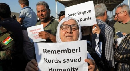 Χιλιάδες Κούρδοι του Ιράκ διαδήλωσαν κατά της τουρκικής επιχείρησης στη Συρία