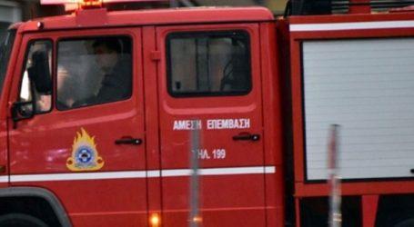 Πυρκαγιά σε παροπλισμένο βαγόνι του ΟΣΕ