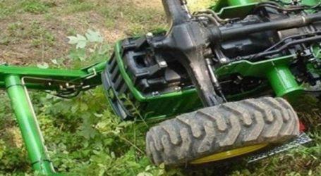 Ηράκλειο: Τρακτέρ καταπλάκωσε αγρότη