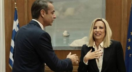 Σύγκλιση απόψεων στη συνάντηση Κ. Μητσοτάκη