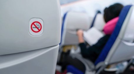 Ανυπάκουος επιβάτης κάπνισε μέσα στο αεροπλάνο και συνελήφθη